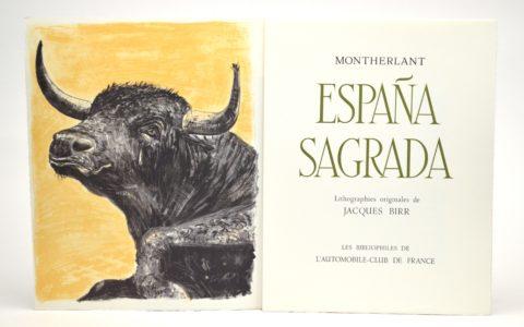 Livres ESPAGNE & TAUROMACHIE (19ème vente) – Mars 2021 – SV Briscadieu Bordeaux