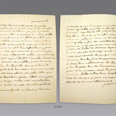 Estimations Expertises manuscrits